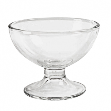 Стъклена чаша за мелба / десерти  323мл