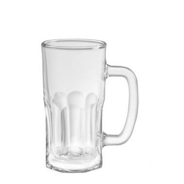 Стъклена халба  410мл  7,6xh15см
