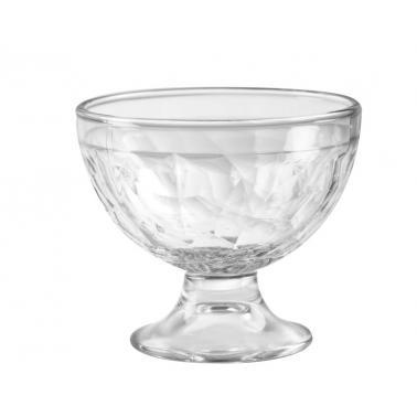 Стъклена чаша за мелба / десерти  253мл 10xh8,6см