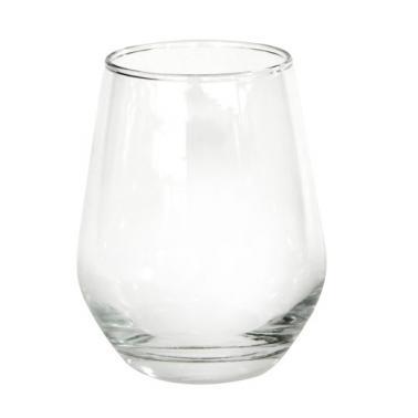Стъклена    чаша  за алкохол / аператив ниска 369мл