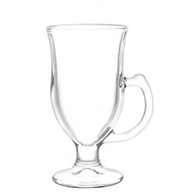 Стъклена чаша за топли напитки 237мл