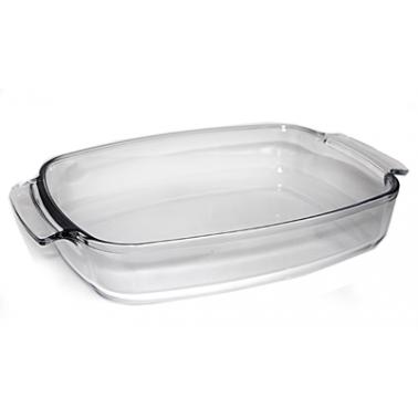 Тава от огнеупорно стъкло  3,6л  WOL (PBSP-360A) - Termisil