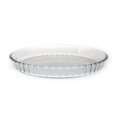 Ростер от огнеупорно стъкло релефен кръгъл 1,4л WOL (PBBO 280A) - Termisil