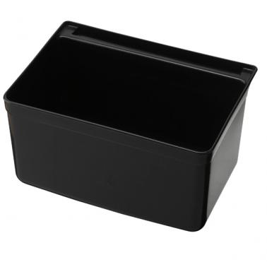 Пластмасов контейнер за количка  за прибори черен  33x23x17.5cм  035B GX - Horecano