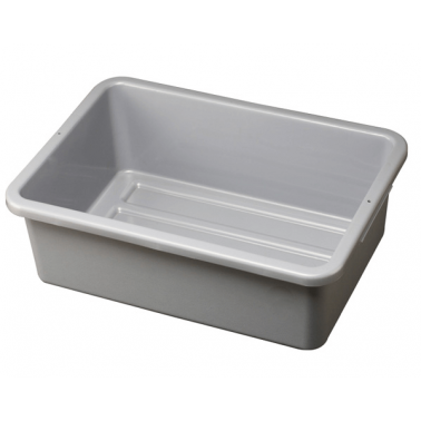 Пластмасов контейнер за количка сив  62x42.5x17.5cм 036A GX - Horecano