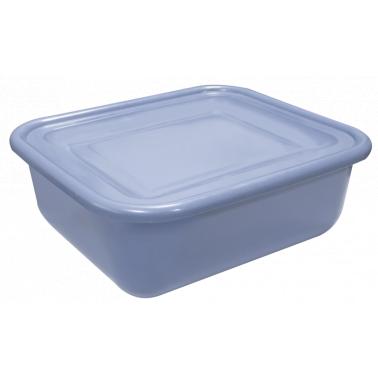 Пластмасов контейнер за количка с капак  сив COVER 37x32x14cм  036E/036E  GX - Horecano