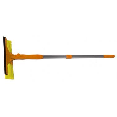 Стъклочистачка с микрофибър оранжева HY 069 - Horecano