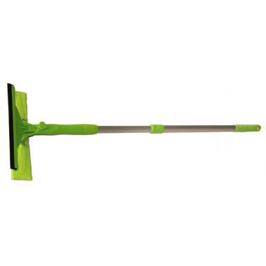 Стъклочистачка с микрофибър зелена HY 069 - Horecano
