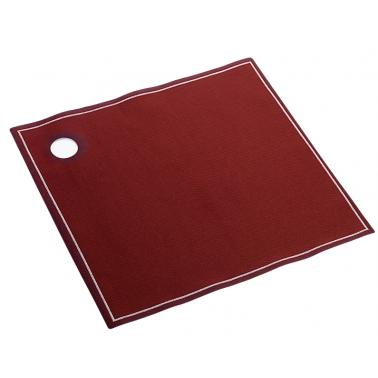 Памучен хангал 40x40см бордо    ROLL DRAP-(31000008)