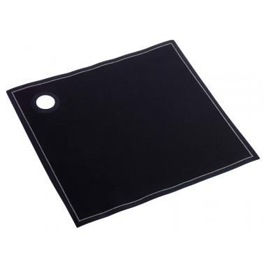 Памучен  хангал за бутилка черен  40x40cм  ROLL DRAP