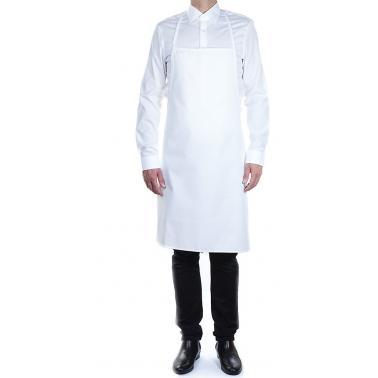 Памучна кухненска престилка 75x90см бяла ROLL DRAP-(30002150)