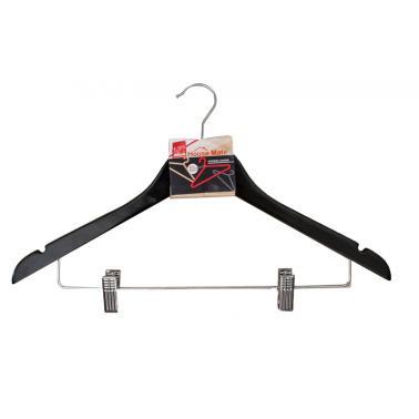 Закачалка за дрехи комбинирана 44x23x1,2см (HW61004) - Horecano