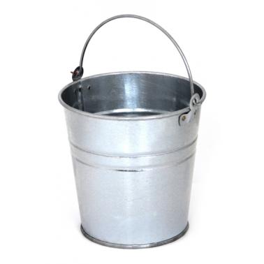 Иноксова поцинкована кофичка за сервиране 11 см - (5411-К) HORECANO