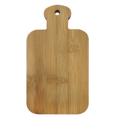 Бамбукова правоъгълна дъска с дръжка 20.5x11x0.9см (BW1043) - Horecano