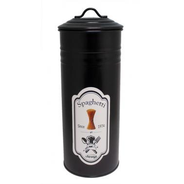 Метална кутия с капак за съхранение на паста черна FERONYA-(FEMU-9)