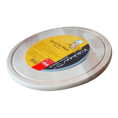 Дървен талар за пица  31х1.6см - Horecano