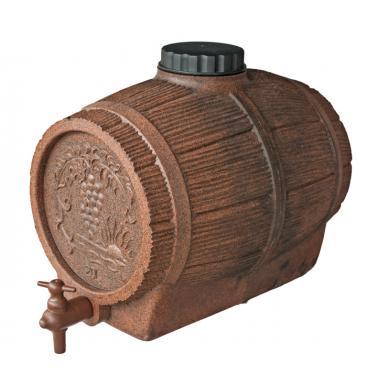 Пластмасова бъчва за вино с канелка 20л - Horecano
