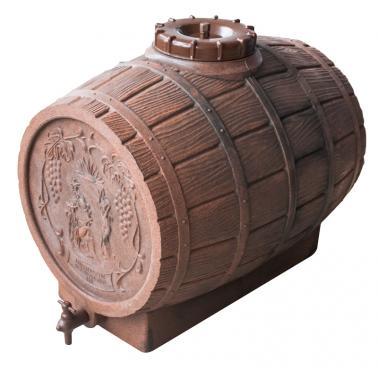 Пластмасова бъчва за вино с канелка 100л - Horecano