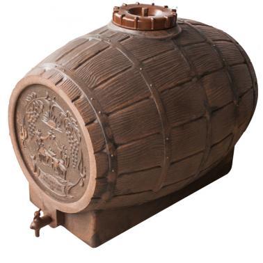 Пластмасова бъчва за вино с канелка 150л - Horecano