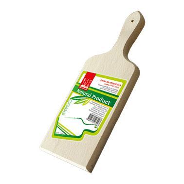 Дървена дъска с дръжка №5 38x20x1.5см- Horecano