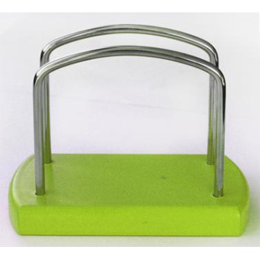 Дървен салфетник зелен ММ-500001/2 - Horecano