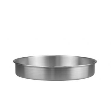 Алуминиева тава кръгла плитка ф28xh6см(HY239-1) - Horecano