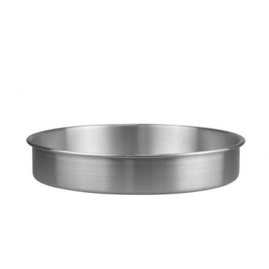Алуминиева тава кръглаплитка ф30xh6см (HY239-2) - Horecano