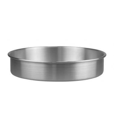 Алуминиева тавакръгла плитка ф32xh6см (HY239-3)- Horecano