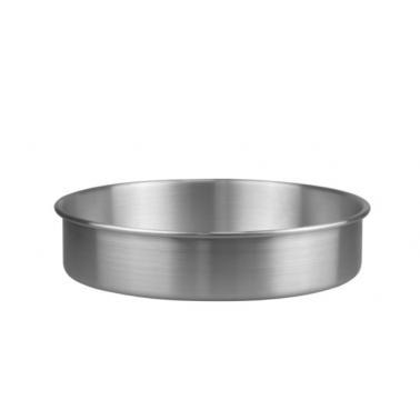 Алуминиева тава кръгла дълбока ф28xh8см (HY239C-1)- Horecano