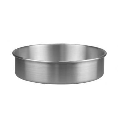 Алуминиева тавакръгла дълбока ф30xh8см (HY239C-2)- Horecano