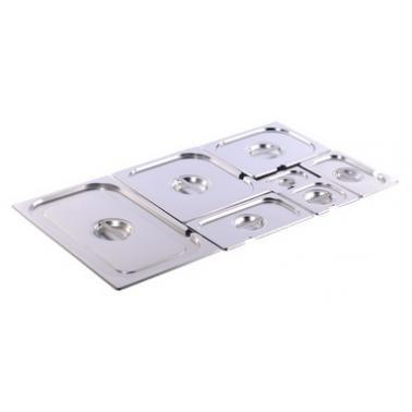 Иноксов капак за гастронорм 1/1 530x325мм  18/0 GF-(GL-110) - Horecano