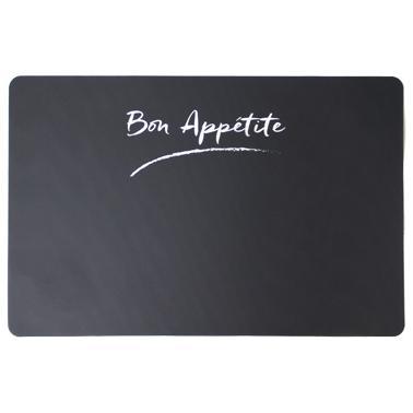 Полипропиленова подложка  за хранене BON APPETIT PLAIN B 43,5x 8,5см HORECANO-(PPCO-25479-BLACK)