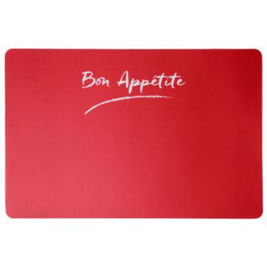 Полипропиленова подложка  за хранене BON APPETIT PLAIN RED 43,5x28,5см  HORECANO-(PPCO-25479-201C)