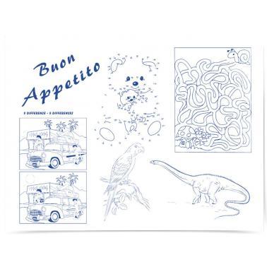 Хартиена подложка за хранене и рисуване 33x44см