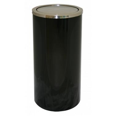 Метален кош черен 30/65 см  ЕК-9410С BL - Horecano