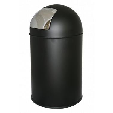 Кош за отпадъци 33л. черен ЕК-9649 BL - Horecano