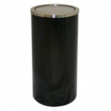 Метален кош черен 10л 20x30см. ЕК-9410D-BL - Horecano