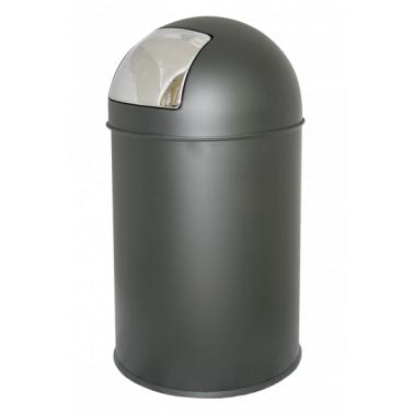 Кош за отпадъци 33л. сив ЕК-9649 DG - Horecano