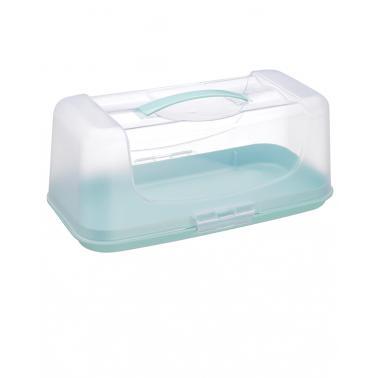Пластмасова кутия за кекс 189x340мм IDEA GL-227 - Horecano