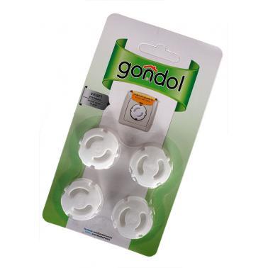 Комплект предпазители за контакт 4бр GL-292 - Gondol