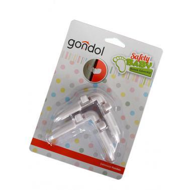 Комплект ъглови заключващи механизми за чекмеджета и шкафове 2брGL-90909 - Gondol