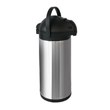 Иноксов термос с помпа 3л. 15xh40,5см (APGH30) - Horecano