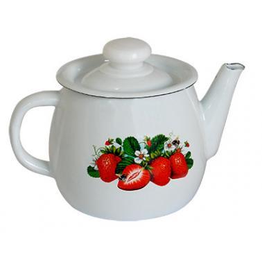 Емайлиран чайник 1л