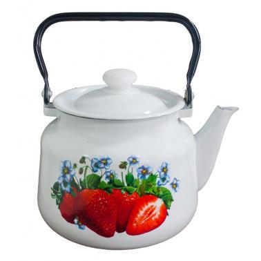 Емайлиран чайник 3,5л