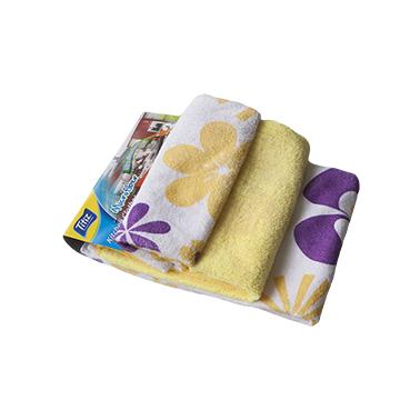 Микрофибърни кърпи кухненски с декор 3бр  41x48см  485 - Titiz
