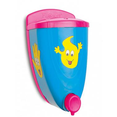 Пластмасов детски дозатор за течен сапун 650мл F-330 - Horecano