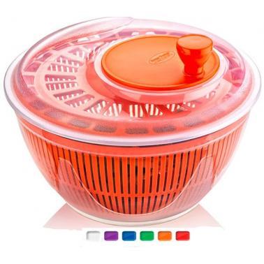 Пластмасова центрофуга за салата 4.75л. различни цветове (SG-230)  -  Irak Plastik