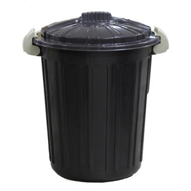 Пластмасов кош за отпадъци N-5 -73л. 45х52см. кафяв (CK-420)  -  Irak Plastik