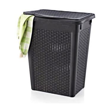 Пластмасов кош за пране 52л.  44.5x33.5x55 см (LA-120)  -  Irak Plastik