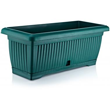 Пластмасова саксия 80см зелена ИП-(US-800)- Irak Plastik